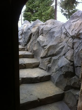 Entrance To Underground Wine Cellar The Vertical Artisans Forum Faux Stone Walls Fake Rock Wall Artificial Stone Wall