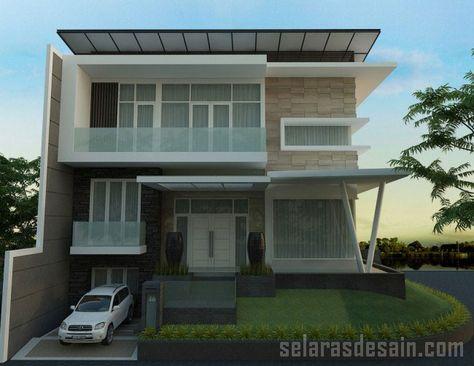 desain rumah mewah 2 lantai   home fashion, desain rumah