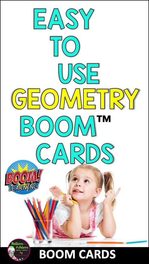 Geometry Bundle BOOM Cards™