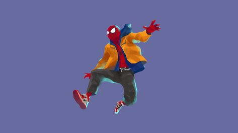 HD wallpaper: spiderman into the spider verse, 2018 movies, 4k, animated movies