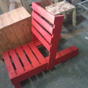 Cadeira Espreguicadeira De Pallet Varia Cabeceira De Pallet