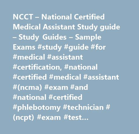 list of pinterest certified medical assistant study guides pictures