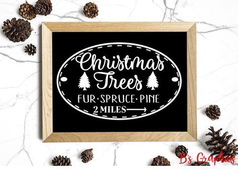 Christmas Trees Vinyl Decal Christmas Decor Wall Quotes Christmas Tree Vinyl Vinyl Decals Wall Decals Laundry