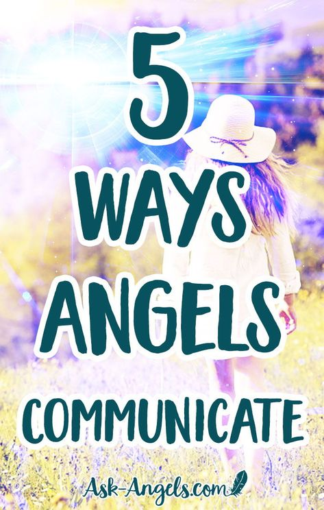 5 Ways Angels Communicate.  For this post, the angels wanted me to write something a bit little different about how the subtle psychic senses manifest as angel communication.  #angels #psychic