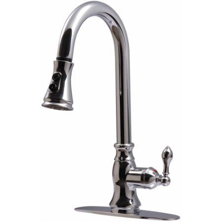 Home Improvement Kitchen Faucets Pull Down Contemporary Kitchen