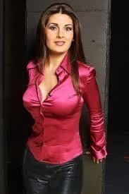Mature tight blouse