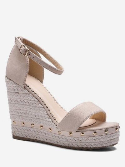 Womens shoes wedges, Ankle strap heels
