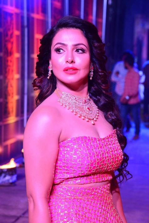 Actress Angana Roy Stills From ZEE Telugu Bullitera Awards