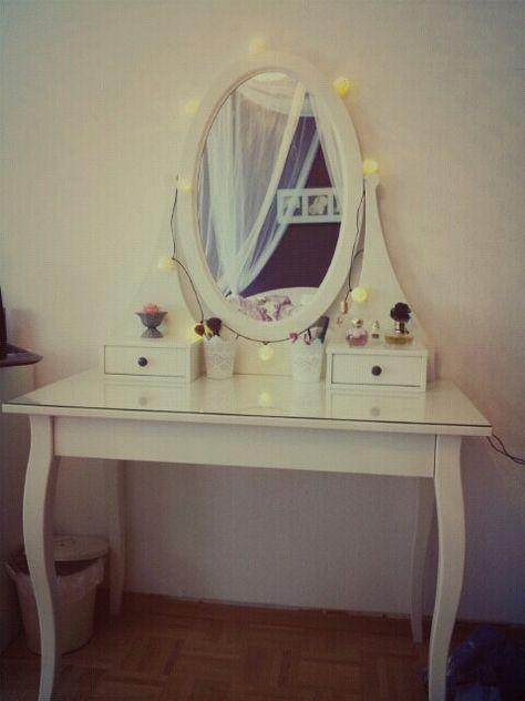 Ikea schminktisch hemnes  Clary Herondale (tyler_nieder200) kullanıcısının Pinterest'teki ...
