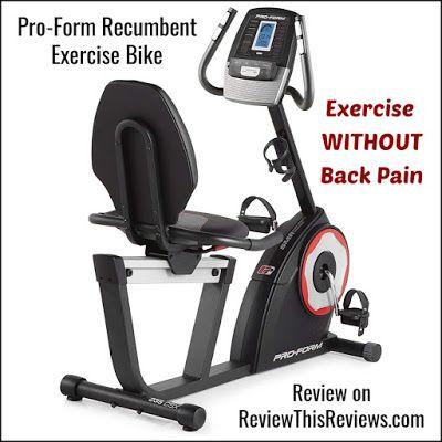 Proform 235 Csx Recumbent Exercise Bike Reviewed Exercise Bike