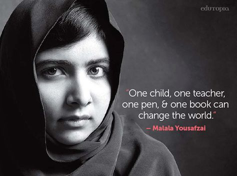 Congrats to Malala Yousafzai for receiving the Nobel Peace Prize! We are incredibly inspired by her passion for education.