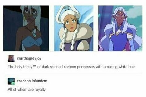 Queen Kida/Atlantis, Princess Yui/ATLA and Princess Allura/Voltron Legendary defender//all of who are awesome. Avatar Airbender, Avatar Aang, Teen Titans, Disney And Dreamworks, Disney Pixar, Princess Allura, Princess Kida, Kida Atlantis, Overwatch