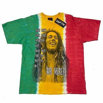 Vintage Bob Marley T Shirt Men S Large Tie Dye 1999 Rasta Reggae Music Fashion Clothing Shoes Accessories Men In 2020 Bob Marley T Shirts Mens Tshirts Mens Shirts