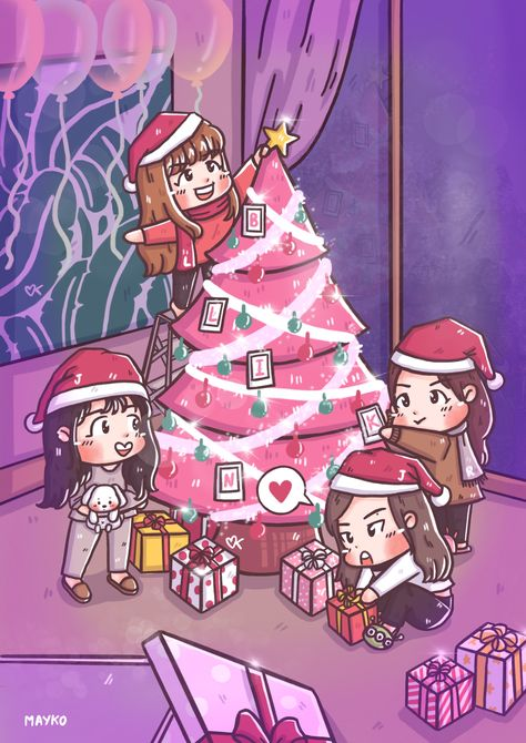 merrychristmas [Fanart] Before Party...