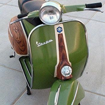 Vintage Vespa. Oh my goodness! this guy is perfection!