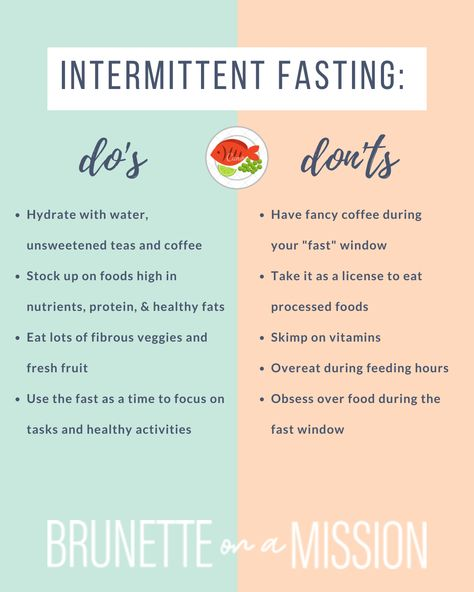 Guide to Intermittent Fasting for Beginners - Check out this comprehensive guide to intermittent fasting for beginners. What is intermittent fasting? What are the benefits of intermittent fasting? #intermittentfastiing #eatfasteat #ifforwomen #intermittentfastingforwomen #brunetteonamission
