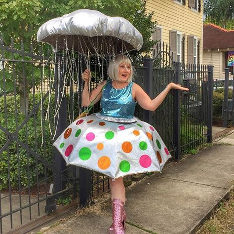 Inspiration & accessories for your DIY Rain Cloud Thunderstorm El Niño halloween costume Idea