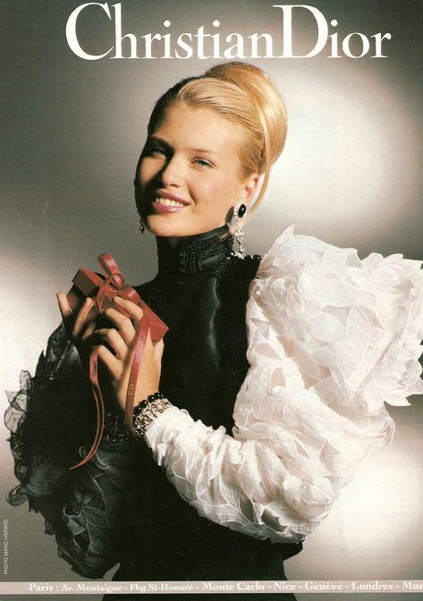 Christian Dior Season: Fall 1994 Photographer: Marc Hispard, Tyen Model(s): Daniela Pestova, Shiraz Tal, Christy Turlington