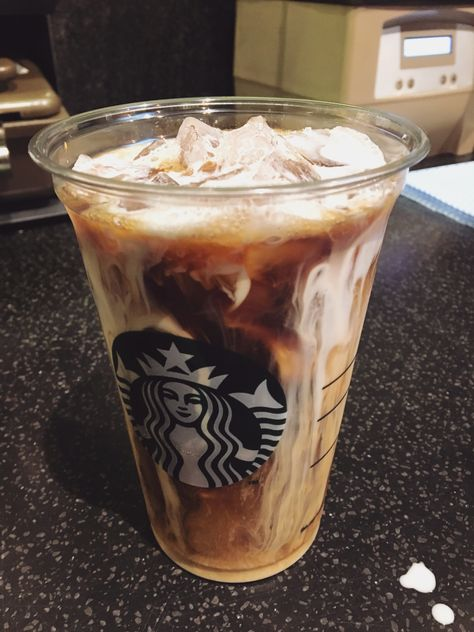 Vanilla Sweet Cream Cold Brew At Starbucks In 2019