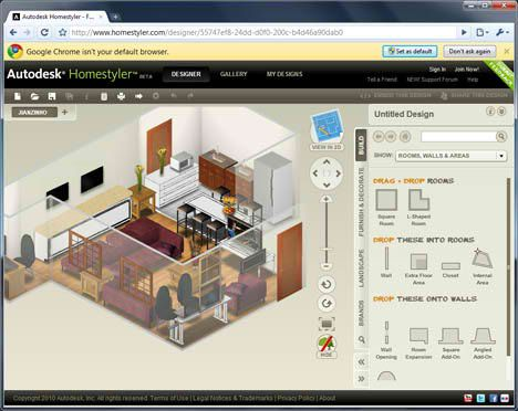 AutoDesk HomeStyler U2013 Web Based Interior Design Software | :O | Pinterest |  Interior Design Software
