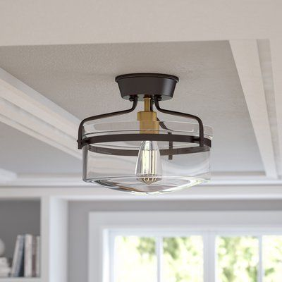Rhinebeck 1 Light Semi Flush Mount 99 Flush Mount Lighting Flush Ceiling Lights Ceiling Lights