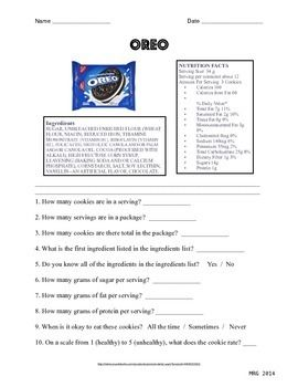 This Worksheet Is Designed To Take A Closer Look At Food Labels The Worksheet Focuses On The Bel In 2021 Nutrition Recipes Watermelon Nutrition Facts Scitec Nutrition