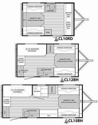 Image Result For 7x16 Cargo Trailer Conversion Floor Plans