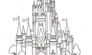 Mewarnai Gambar Istana Barbie Untuk Tk Dengan Gambar Warna