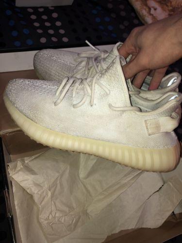 Adidas Yeezy Boost 350 Cream White Size