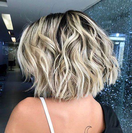 13 Short Haircuts For Thick Wavy Hair Messy Bob Hairstyles Thick Hair Styles Bob Hairstyles For Thick
