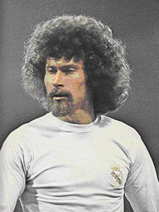 Paul Breitner Of Real Madrid West Germany In 1975 Futbol