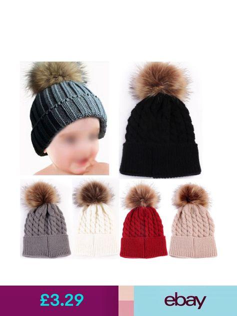 discount code for baby boy knitted pom pom hats ebay b4473 7e105 2972e34e5a30