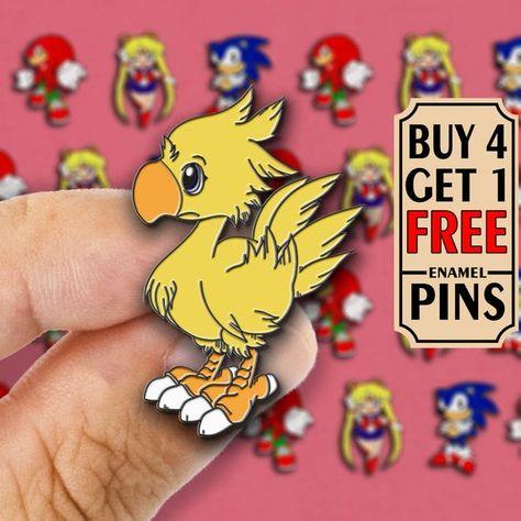 Final Fantasy Chocobo Pin