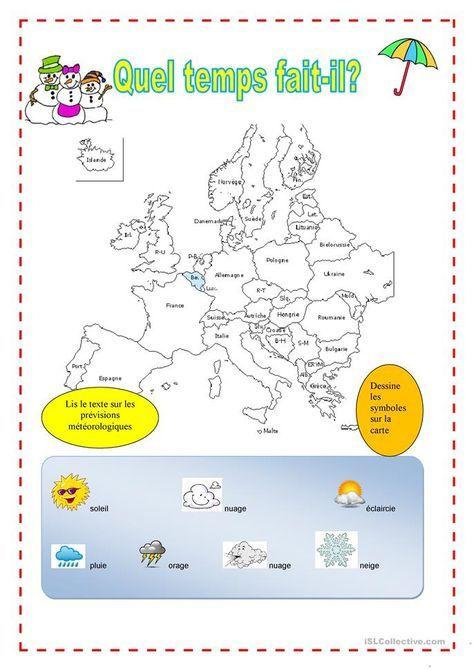 La Meteo Carte Meteo Carte Europe Et Quel Temps Fait Il