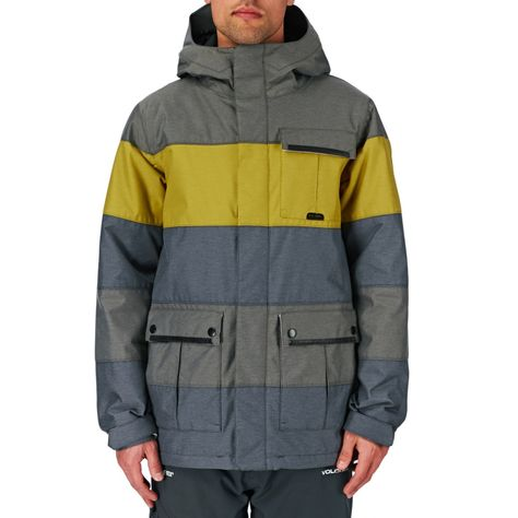 Men's Volcom Snow Jackets Volcom Captain Insulated Snow