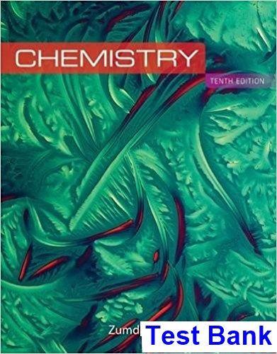 Chemistry 10th Edition Zumdahl Test Bank Test Bank Dowload