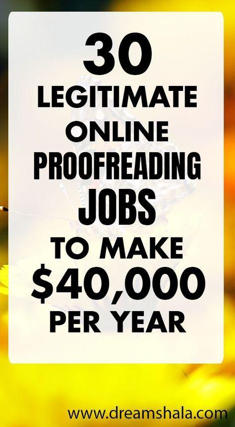 27 Best Online Proofreading Jobs For Beginners (Earn $30/hr)