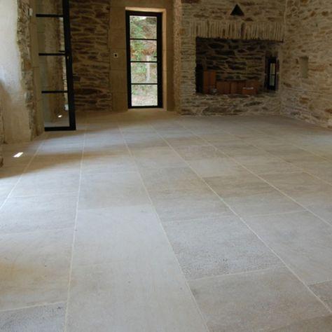 Paving Tiles Burgundy Limestone Ampilly Pierre De Bourgogne