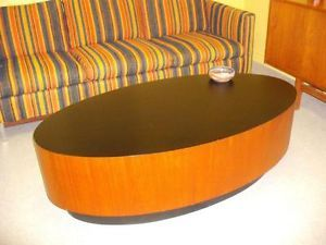 Rare Mid Century Modern Rs Associates Oval Teak Coffee Table Matches Our Martini Bar Want Teak Coffee Table Selling Furniture Finding A House