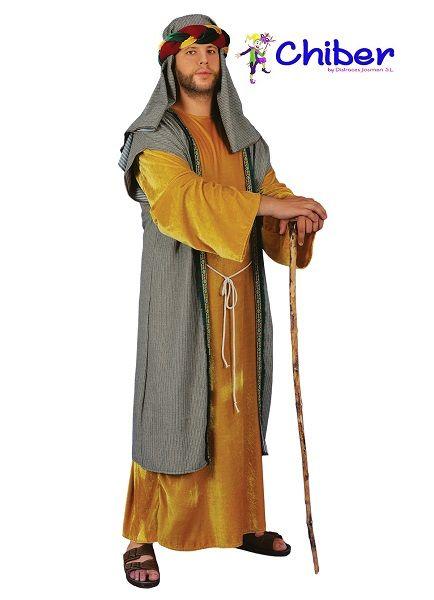 Disfraz De Pastor Hebreo O San José Adulto Los Hebreos Son Un Antiguo Pueblo Semita De Pastores Nómadas Siendo Los Disfraz De Pastora Traje De Pastor Disfraz