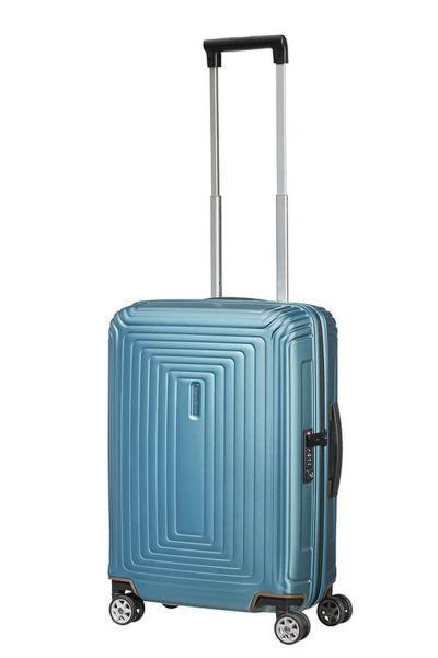 Samsonite Neopulse Spinner 55cm Matte Ice Blue Kofferexpress 24 In 2020 Blue Bags Travel Bags