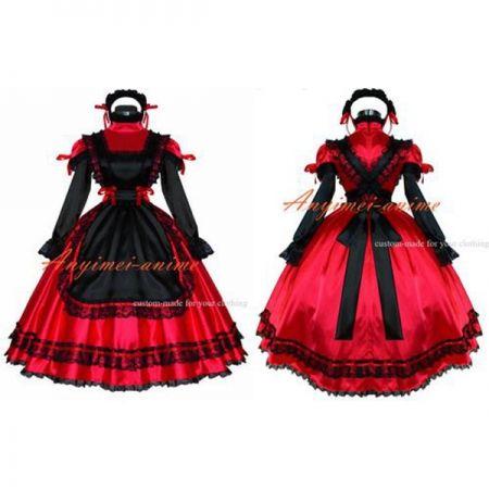 Sissy Maid Dress Lockable Cosplay Gothic Lolita Cosplay Custom made