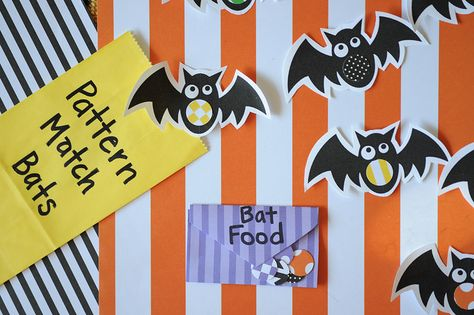Bat Pattern Matching - - Pinned by @PediaStaff – Please visit http://ht.ly/63sNt for all (hundreds of) our pediatric therapy pins
