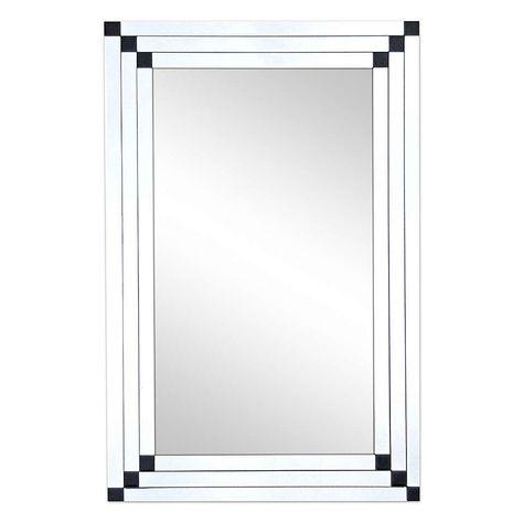 8 Bar Bevelled Mirror Living Room Mirrors Beveled Mirror Ornate Mirror