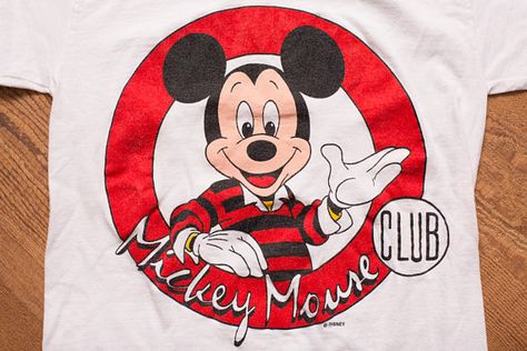 mickey mouse club t shirt