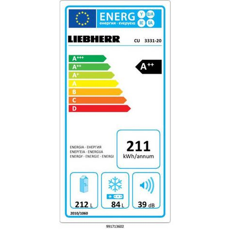 Liebherr CU 3331-20 koelvriescombinatie - Koelkast, Oude koelkast ...