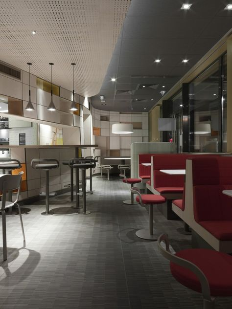 Patrick Norguet sign the new architecture of McDonald's restaurants, 6 restaurants are currently in progress on all of France . For design, Patrick Norguet