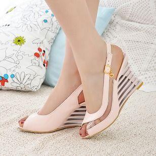 Kobiece Koturny Sandaly Odkryte Palce Buty Z Paskiem Buty Na Koturnie Derma Buty Sandalias De Salto Alto Sapatos De Verao Sandalias Femininas