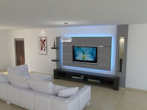 Tv Wall Unit Latest Design Ideas 2018 Part 1 By Favour Beautiful Things Youtube Modern Tv Wall Units Living Room Tv Modern Tv Wall