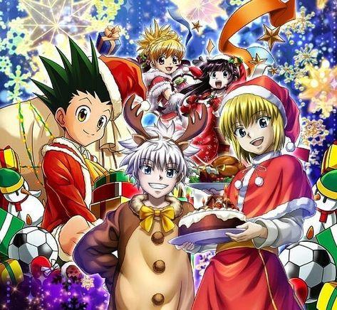 happy holidays follow me for more manga and anime related posts hunterxhunter hunterxhunter2011 manga anime shon 2020 アニメ キルア ハンターハンター キルア